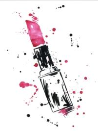 lipstick-drawing